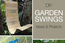 Outdoor Yard Projects / Ideas for garden, kids and much more. Planting, swings, fire pits and etc