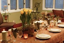 Holiday Table Setting / Dressing your table for that special holiday dinner with your favorite linens should be enjoyable!  Bring all of your holiday linens to White Way Cleaners for a refresh during the November & December Special!  Read More Here:  http://whitewaydelivers.socialtuna.com/holiday-table-setting/