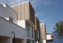 Lavori via Negrotto / Trasformazione di ex capannoni industriali in edifici residenziali. Rifunzionalizzazione e adeguamento strutturale