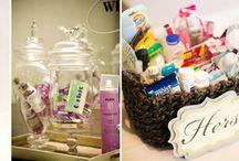 Koszyczek ratunkowy dla gości weselnych / Apteczka dla gości na przyjęciu weselnym