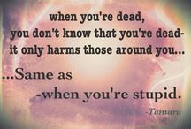 Naive to your stupidity