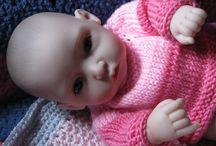 moje panenky / pletení a háčkování