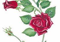 laminas flor