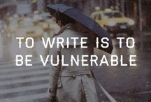 Quintesstional Quotes for Writers / Because writers love words. :)