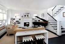 Modern Piano Rooms