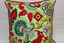 Cushion Cover / Lend vibrancy to your dull living room setting with this multicolored cushion cover. Featuring an interesting abstract velvet patch work and a mesmerizing combination of different hues, it looks incredibly beautiful. Made of cotton, it is easy to maintain and durable. Any item shown in the image, apart from the product/package content is for display purpose only.