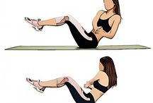 7 exercies for belly pooch