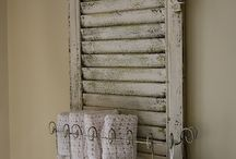 old window shutters recycled