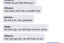 haikyuu texts