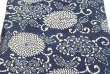 Japanese indigo textiles/ vintage / by Takashi Onoe