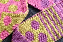 kids scarf - knit