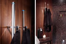 Handdukstork / Energisnåla elektriska handdukstorkar och upptäck hur läcker formgivning och fina material kan ge både värme, ledljus och stil