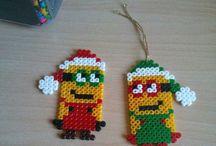 Hama beads natale/feste