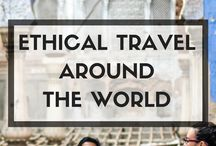 Ethical Travel / Traveling the world is an awesome and educational experience. It is also critical that we honor and respect the people and the land we visit. Here are some thoughts and suggestions on how to do just that.