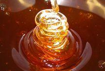 Amber And Honey Hues