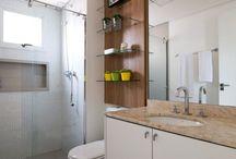 Banheiro decorado simples / Banheiros com decoração simples e linda, se inspire!