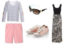 Ultimate Summer Capsule Wardrobe / When it comes to packing for your holiday, it can be the one thing that stresses you out the most before you head off to relax from day to day life.  But it needn't be this way.  Whatever your location for your break this summer, remember that you don't need to pack everything and the kitchen sink.  Capsule wardrobes are the way forward and they really are easier to manage than you think.