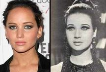 CELEBRITY LOOKALIKES / Lookalikes & Doppelgangers... It's amazing how much some people look like each other.