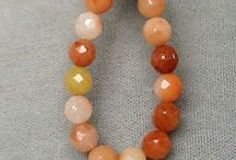 Stone Beads > Jade Beads / Natural Jade Beads in a variety of shapes, colors and sizes.