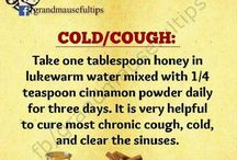 Home made remedies / When sick