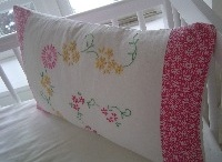 Touch of Vintage with a hint of Greengate Cushion