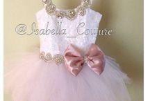 Lace girl dress