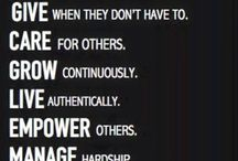 werk leadership/team
