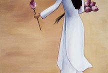 festett képek