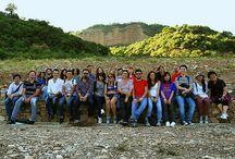 Accademia delle Belle Arti di Napoli. Gli studenti del Corso di Landscape Design - ABA in visita alle istallazioni di ArtePollino.