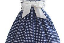 vestidos bebes