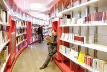 Bibliothèques / Les bibliothèques du monde - Libraries