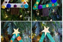 kids christmas crafts / by Tina Roach