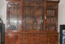 Breakfront Bookcase / Breakfront bookcases - Victorian, Regency, Walnut, Antique William IV bookcases, Sheraton, Mahogany. Large range of breakfront bookcases many on display in our Herts showroom  http://www.canonburyantiques.com/s/bookcases/breakfront-bookcases/1/