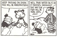 Calvin and Hobbs (sigh) / by Jeannine Wiley