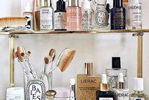 Makeup, hair & skincare