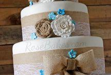Wedding cakes••