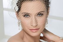 Head pieces & veils / All the goodies that you should have on your wedding day.