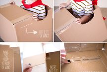 Cardboard toy