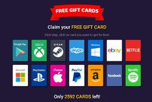 New Giveaways / Free gift cards