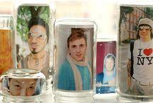 jar picture frame