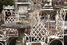 aranżacje ogrodowe-meble,metal