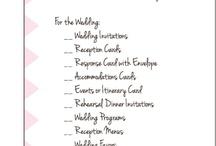 Wedding ▶ Organization