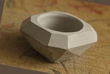 Concrete Tea Light Candle Holder