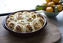 food: sides, rolls, etc.