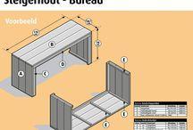 steiger houten meubels maken