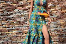 Afro dress