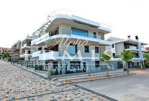 Thermi, Thessaloniki / Вилла расположена в восточном пригороде г.Салоник.Что  является большим преимуществом, т.к.  соединяет и удобства большого города, и близкое расположение  главного курорта Северной Греции—полуострова Халкидики.