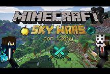 minecraft Sky wars / video italianisimpatici su skywars!!!