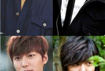 Actor and model Lee Min Ho