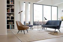 lounge area modern art deco